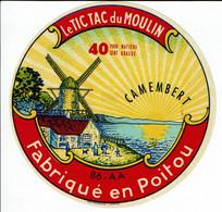 """Et. Camembert Du Poitou """" Le Tic Tac Du Moulin """" Vienne - Kaas"""