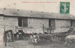 REF.AG1 . CPA . 95 . LEFEBVRE LOUIS - FERME DE LA MOINERIE - L ELEVAGE DU VEXIN - ATTELAGE - Granja