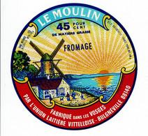Et. Camembert Des Vosges - LE MOULIN - - Kaas