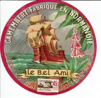 "Et. Camembert De Normandie "" LE BEL AMI "" - Kaas"