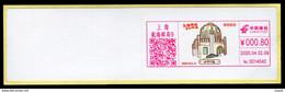 China Shanghai Postage Machine Meter Lable /ATM: Seamen's Hospital - Brieven En Documenten