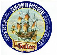 """Et. Camembert Pasteurisé Du Loir Et Cher """" LE GALLION """" - Kaas"""