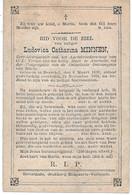 Minnen L.c. (dessel 1839-1881) - Religion & Esotericism
