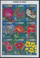 Gambie Flowers Fleurs Strelitzia Reginae  MNH - Otros