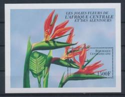 Centrafrique Flowers Fleurs Strelitzia Reginae  MNH - Otros
