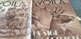 VOILA 36 / CHASSE  MONTMARTRE CONCOURS/ALEXIS CARREL  LINDBERGH / HERBLAY BEAUTES GEORGES MORO MAGGY PELLETIER - 1900 - 1949