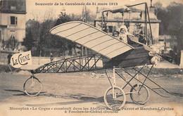 """FESCHES-le-CHATEL - Monoplan """" LE CYGNE """" Construit Dans Les Ateliers De Cycles De Mr Parrot Et Marchand - Autres Communes"""