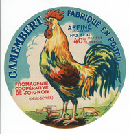 Et. Camembert De La Fromagerie De Soignon  - COQ - Kaas