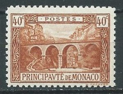 Monaco YT N°57 Viaduc De Sainte-Dévote Neuf ** - Unused Stamps