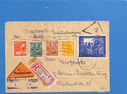 Allemagne Bizone 1948 Lettre De Leipzig (G2006) - Zona Anglo-Americana