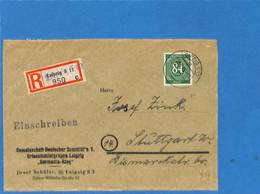 Allemagne Bizone 1946 Lettre De Leipzig (G2009) - American/British Zone