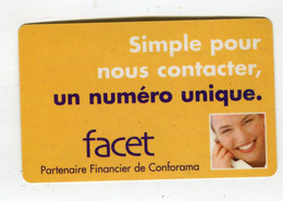 Carte De Visite °_ Carton-Facet-Un Numéro Unique - Visiting Cards