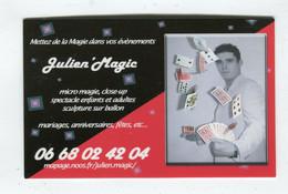Carte De Visite °_ Carton-Julien Magic-Mettez De La Magie Dans Vos évènements- 06 - Visiting Cards