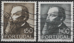 Portugal – 1951 Guerra Junqueiro Used Set - Used Stamps