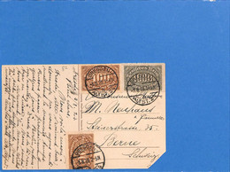 Allemagne Reich 1923 Postkarte De Dresden à La Suisse (G2125) - Lettres & Documents
