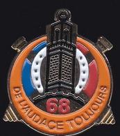 71561-Pin's-La Valbonne, Le 68e Régiment D'artillerie D'Afrique.Militaire.armée. - Militari
