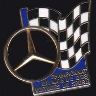 71562-Pin's-Mercedes.Rallye Automobile.signé Arthus Bertrand Paris. - Arthus Bertrand
