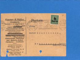 Allemagne Reich 1923 Postkarte De Munchen (G2127) - Lettres & Documents