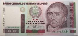 Pérou - 1000000 Intis - 1990 - PICK 148 - NEUF - Peru