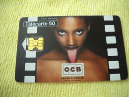 7290 Télécarte Collection OCB PAPIER TABAC à ROULER 09/98  ( Recto Verso)  Carte Téléphonique - Altri