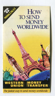 Carte De Visite °_ Carton-Western Union-Money Transfer - Visiting Cards