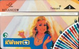 BELGIQUE  -   Carte Privée  -  Télé KWINTO  - Telecard 5 - Other