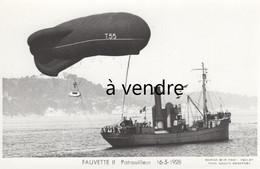 FAUVETTE II, Patrouilleur  16-5-1928 - Warships