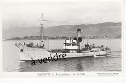 FAUVETTE II , Patrouilleur  14-10-1941 - Warships