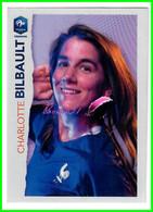 Image Vignette PANINI Football FFF France Féminin Intermarché  N° 41 BILBAULT Charlotte - Edición Francesa