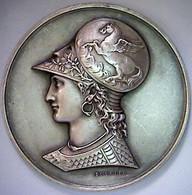Figurine à L'antique. Médaille. - Andere