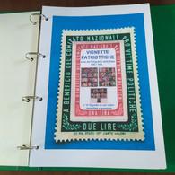 PRO VITTIME POLITICHE-ALBUM X Collezionare Le Vignette - Cartelle Classificatrici Da Gr.200 EMISSIONE BENEFICENZA 1945 - Stamp Boxes