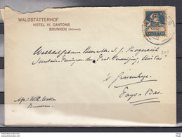 Brief Van Brunnen Naar S'Gravenhage (Nederland) - Briefe U. Dokumente