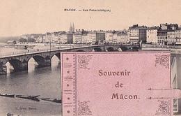 SOUVENIR DE MACON               CARTE A SYSTEME       COMPLET - Macon