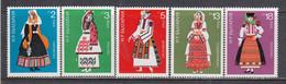 Bulgaria 1975 - Regional Costumes, Mi-Nr. 2400/04, MNH** - Ungebraucht