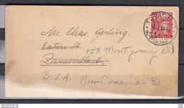 Brief Van Zurich 11 Naar USA New Concord - Briefe U. Dokumente