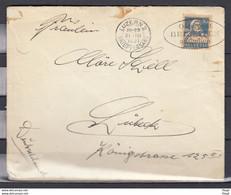 Brief Van Luzern 2 Briefversand Naar Lubeck Osterpost Beizeiten Aufgeben - Briefe U. Dokumente