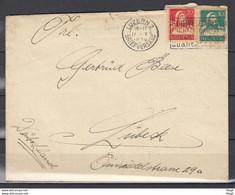 Brief Van Luzern 2 Briefversand Naar Lubeck - Briefe U. Dokumente