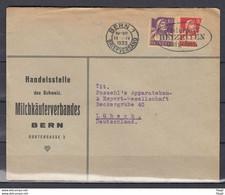 Brief Van Bern 1 Briefversand Naar Lubeck (Duitsland) Osterpost Beizeiten Augeben - Briefe U. Dokumente
