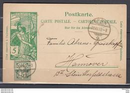 Postkarte Van Thun Naar Hannover - Briefe U. Dokumente