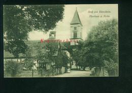 AK Scherzheim, Baden, Lichtenau, LK Rastatt, Pfarrhaus U. Kirche, Ungelaufen - Other