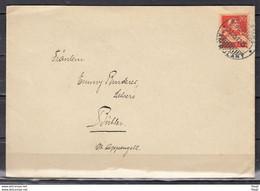 Brief Van Bahnpost Ambulant Naar Buhler - Briefe U. Dokumente