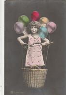 *** Enfant *** Mongolfiere De Fête Ballons TTBE - Portraits