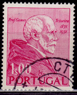 Portugal, 1952, Gomes Teixeira, 1e, Used - Used Stamps