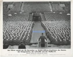 Adolf Hitler - Discours De Présentation Du 20 Nov. 1943 - Foto-Hoffmann - 1939-45