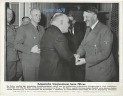 Adolf Hitler - Ribbentrop - Generalfeldmarschall Keitel - 16 Nov 1943 - Foto-Hoffmann - 1939-45