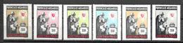 Moçambique 1964 - Assistência - Imposto Postal E Telegráfico - Afinsa 62 E 67 Set Completo - Mosambik