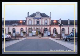 72  SILLE  Le  GUILLAUME   ..  La  Gare - Sille Le Guillaume