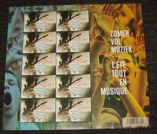4357** Belgique 2013 -  Festivals De Musique - Een Zomer Vol Muziek - L'Eté Tout En Musique ** / MNH - Nuevos