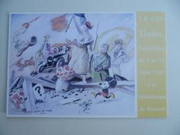 Carte Postale / Marianne , Illustration De Johan De Moor , Le Cas Tintin , Personnages De BD - Non Classificati