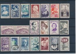 FRANCE - COLLECTION DE 344 TIMBRES AVANT 1960 NEUFS** SANS CHARNIERE - FORTE COTE - VOIR SCANNS - Collections